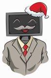 La Navidad de la celebración del patrón libre illustration
