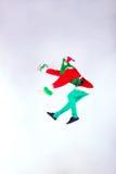 La Navidad de la estola de Grinch Fotografía de archivo