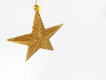 La Navidad de la estrella fotografía de archivo