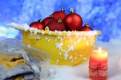 La Navidad de la seguridad y Año Nuevo Imagen de archivo libre de regalías