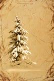 La Navidad de la vendimia fotos de archivo