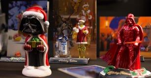 La Navidad de las Guerras de las Galaxias fotografía de archivo