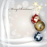 La Navidad de los mundos Fotos de archivo libres de regalías