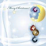 La Navidad de los mundos stock de ilustración