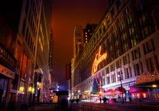 La Navidad de Macy NYC Fotos de archivo libres de regalías