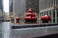 La Navidad de New York City imagen de archivo libre de regalías