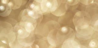 La Navidad de oro Foto de archivo libre de regalías