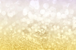 La Navidad de oro 2016 del brillo Imagen de archivo