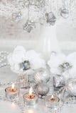 La Navidad de plata Fotografía de archivo libre de regalías