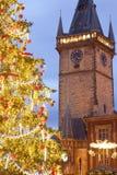 La Navidad de Praga Imágenes de archivo libres de regalías