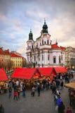 La Navidad de Praga, Año Nuevo Imagen de archivo