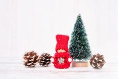 La Navidad Decoración de la Navidad Copie el espacio Fotos de archivo libres de regalías