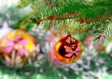 La Navidad, decoración del Año Nuevo Imagen de archivo