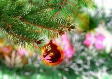 La Navidad, decoración del Año Nuevo Foto de archivo