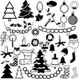 La Navidad decoratio1 Fotos de archivo
