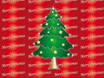 La Navidad del árbol Foto de archivo