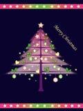 La Navidad del árbol Imagenes de archivo