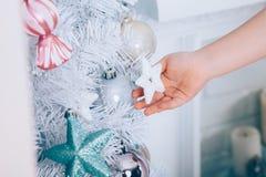 La Navidad del Año Nuevo Fotos de archivo