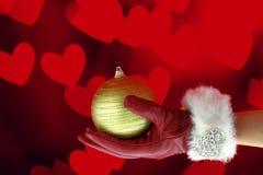 La Navidad del amor Imagen de archivo libre de regalías