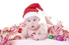 La Navidad del bebé Imagen de archivo