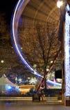 La Navidad del cuadrado de Leicester justa Foto de archivo libre de regalías