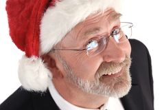 La Navidad del hombre de negocios fotos de archivo