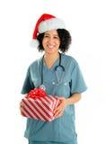 La Navidad del hospital fotografía de archivo libre de regalías