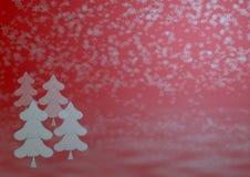 La Navidad del invierno del fondo Imagen de archivo libre de regalías