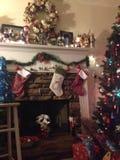 La Navidad del país Foto de archivo