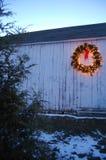 La Navidad del país de Connecticut Imagen de archivo libre de regalías