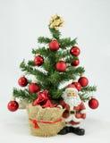 La Navidad del padre Fotografía de archivo libre de regalías