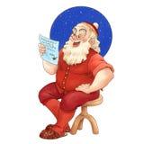 La Navidad del padre Foto de archivo