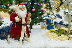 La Navidad del padre Imágenes de archivo libres de regalías