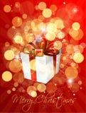 La Navidad del regalo libre illustration