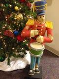 La Navidad del soldado de juguete Foto de archivo