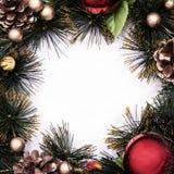 La Navidad del tema fotografía de archivo