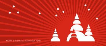 La Navidad del vector Fotos de archivo