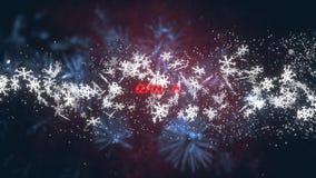 La Navidad desea la pantalla del título libre illustration