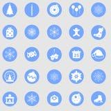 La Navidad determinada del icono Fotos de archivo