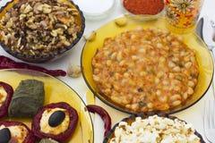 La Navidad dinner_8 Imagen de archivo libre de regalías