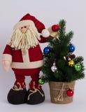 La Navidad divertida Santa Claus Foto de archivo