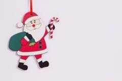 La Navidad divertida Santa Claus Fotos de archivo