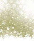 La Navidad elegante con los copos de nieve.  Foto de archivo libre de regalías