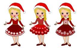 La Navidad embroma el traje ilustración del vector