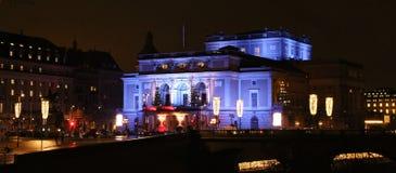 La Navidad en la ópera real en Estocolmo Fotos de archivo