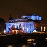 La Navidad en la ópera real en Estocolmo Imágenes de archivo libres de regalías