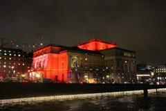 La Navidad en la ópera real en Estocolmo Fotos de archivo libres de regalías