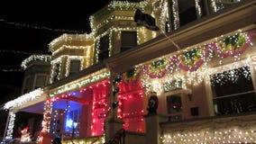 La Navidad en Baltimore almacen de video