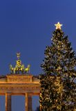 La Navidad en Berlín Foto de archivo libre de regalías
