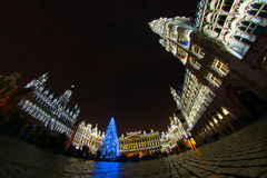 La Navidad en Bruselas Foto de archivo